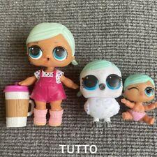 Brrr B.B. Doll Big Sister & Lil Brrr Sis & Brrd Bird Owl Family Set Rare Gifts