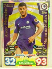 Match Attax 2017/18 Premier League - #391 Alvaro Morata - Man of the Match