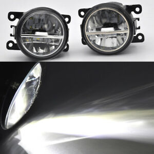 For Subaru BRZ/XV 2013-2018 LED Fog Lights Assembly with glass reflector 2Pcs