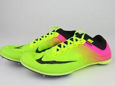 Nike Zoom Mamba 3 Olympic Track Running Spikes Volt Pink Black Sz 11 882015-999