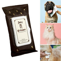 Pawletts Cleansing Towelettes Wipes Dogs, Cats, Pets By Juicy Crittoure