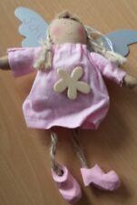 Engel # 9 aus Stoff mit Metallflügel ca. 15cm