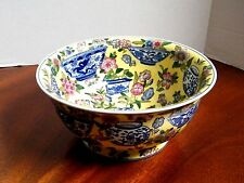 Large Hand Painted Chinese Bowl 10""