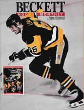 Beckett Hockey Magazine, Issue #10 August 1991 Mario Lemieux On Cover
