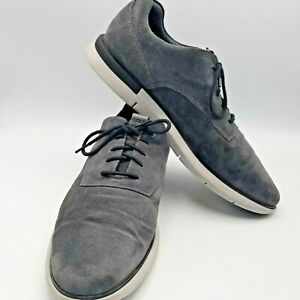 COLE HAAN, Men's Size 13M, Grand OS, Gray Suede, Casual Lace UP Shoes.