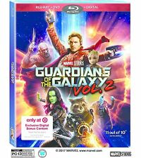 Guardians Of The Galaxy: Vol 2 Target Exclusive Blu-ray/DVD,DigitalHD SHIPS 8/22