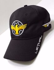 Taylormade Lethal Adjustable Hat Cap with Embroidery Logo Black