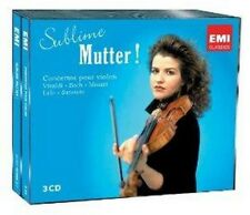 Anne-Sophie Mutter - Sublime Mutter (NEW 3CD)