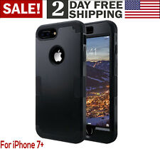 iPhone7 Plus 8 Plus Slim Shockproof Heavy Duty 3 in 1 Hybrid Hard PC Case Cover