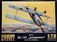 Huma 1/72 Bucker Bu 131 Jungmann unmade complete kit sealed bag