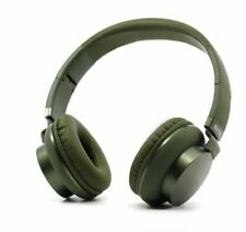 Blogy Wired Headphones Foldable Gaming Element One PS4 XBOX Built-in Mic 4ft GRN