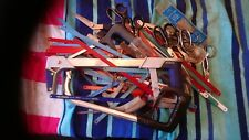 Huge job lot of hacksaws and blades and scissors
