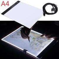 A4 LED Ultra Slim Art Craft Drawing Copy Tracing Tattoo Light Box Pad Board