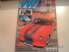 **d Super VW Magazine n°118 Split réplica Turbo / Combi 1967 / Ovale 1956