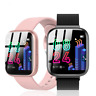 Smartwatch P4 Bluetooth Uhr Curved Display Android iOS Samsung iPhone Huawei IP