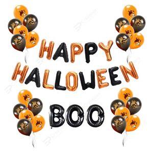 Happy Halloween Balloon Decoration Boo Balloon Scary Halloween Party Fun Deco UK