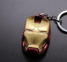 Keychain / Porte-clés - Marvel IRON MAN Stereoscopic 3D - GOLD / ROUGE