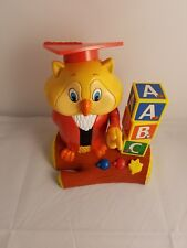 Hasbro 2002 Vintage Professor Oliver Owl Teaches Abc's And Letters And Games Toy