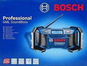 Bosch Professional Akku Baustellenradio GML SoundBoxx 14,4V 18V Radio 0601429900