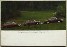 VOLKSWAGEN VW 1600 Car Sales Brochure Aug 1968 #15132729 TL FASTBACK Notchback +