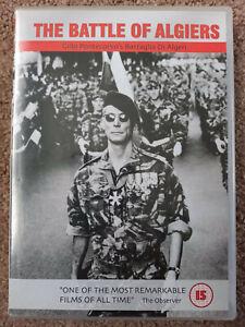THE BATTLE OF ALGIERS (DVD, 2003) - Casbah Film 1966 B&W