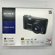 Sony Cyber-shot DSC-HX5V10.2MP Digital Camera - Black