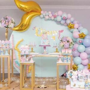 Macaron Purple Mermaid Balloon Garland Arch Baby Birthday Decoration AU Stock