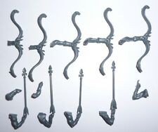 Dark Elves Daughters of Khaine Melusai Heartseeker Bows x 5- G1155