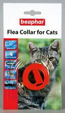 Collar de color principal azul para gatos