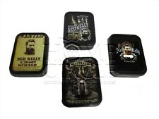 Assorted Design Ned Kelly Outlaw Tobacco Cigarette Smoke Stash Tin Large Size