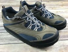 MBT Chapa Men's Leather Mesh Lace Sneaker Walking Shoes Size 10.5
