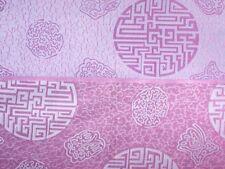 70 % Seide Seidenstoff Glückszeichen Lavendel/blaugrau110 cm breit Meterware