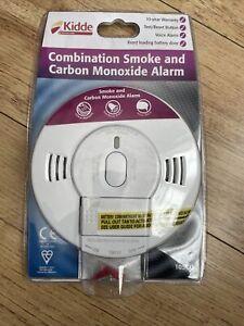 Kidde 10SCO Smoke and Carbon Monoxide Alarm with Voice Notification - White