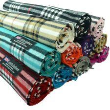 Men Women unisex 100%CASHMERE Scarf tartan stripe Plaid Wool SCOTLAND