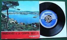 """Sardanes a la Cost Brava 1964 4 Track 7"""" EP"""