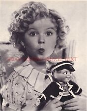 SHIRLEY TEMPLE BLACK 8x10 CLASSIC VINTAGE PHOTO WHISTLE SO CUTE YOUNG