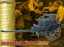"Dragon 1/6 Scale 12"" WWII German Field Kitchen Vehicle Limber 71361"