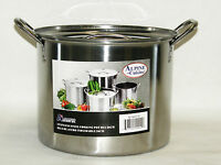 Stainless Steel Water Pot 16 QT Quart 4 Gallon Soup Chili Pasta Spaghetti NOTE*