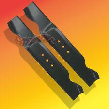 "2  Blades fit MTD 38"" Cut  Mower # 742-0473A, 942-0473A  Round Center Hole"