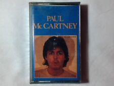 PAUL McCARTNEY II mc cassette tape k7 ITALY RARISSIMA