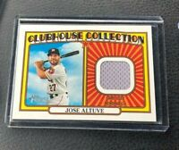 2021 Topps Heritage JOSE ALTUVE Clubhouse Collection Jersey RELIC