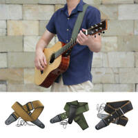 Adjustable Soft Strap Pure Cotton for Electric Acoustic  Bass Guitar New IJO