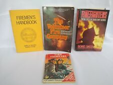 Lot of 4 books on  miscellaneous fire fighter books