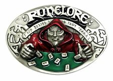 Runelore Belt Buckle Runes Cosplay Fantasy Themed Authentic Bulldog Buckle Co