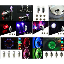Coloful LED Wheel Tyre Tire Air Valve Stem Cap LED Light Lamp Car Wheel Decor EF