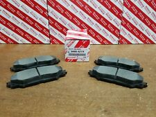 Toyota RAV4 2006-2013, Front & Rear OEM Ceramic Brake Pads w/o Shims