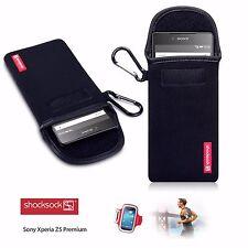 Shocksock Pouch Slip Case for Sony Xperia Z5 Durable Neoprene Construction