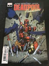 Deadpool Assassin#3 Incredible Condition 9.4(2018) Bagley/Dell Art!!