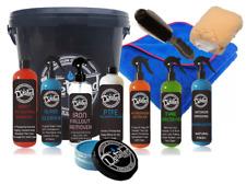 Car Valeting Interior Exterior Kit Carnauba Wax Wash Cleaning Polish Bucket mitt