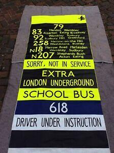 london bus destination blind